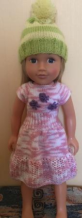 Фото. Вяжем для кукол.   Автор работы - Cathrina