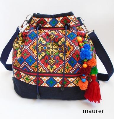 Фото. Этно мешок. Сумка-рюкзак.   Автор работы - maurer