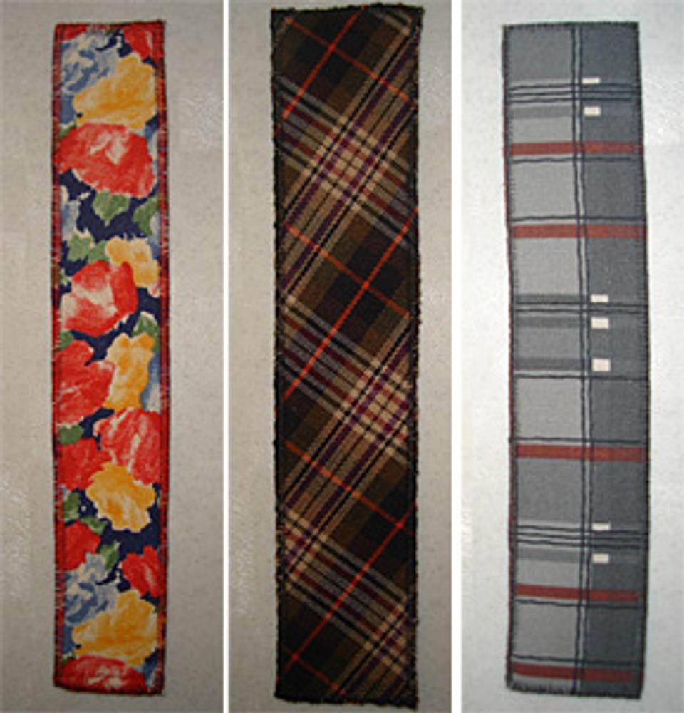 Фото 5. Закладки из ситца, плательной и рубашечной тканей.