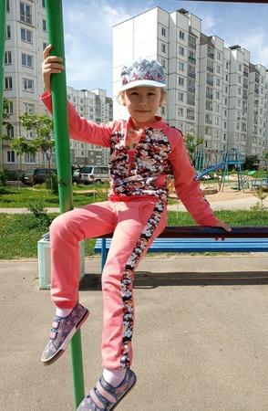 Фото. Спортивный костюм из футера.  Автор работы - AYouchka