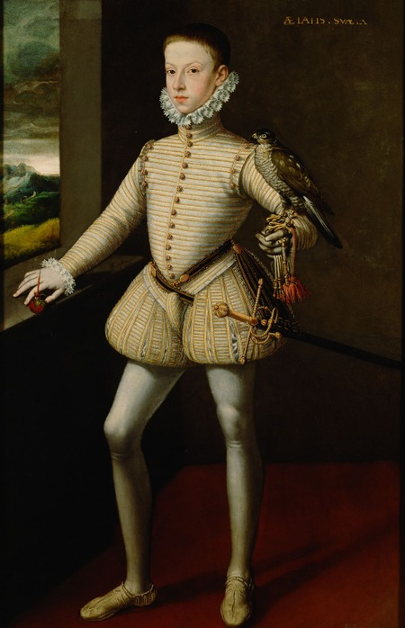 Фото. Алонсо Санчес Коэльо (Alonso Sánchez Coello) Archduke Wenceslaus of Austria, 1574 г.