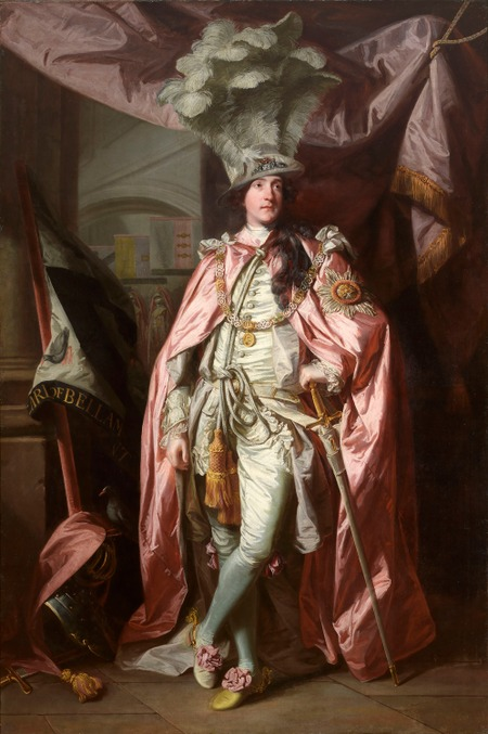 Фото. Джошуа Рейнольдс (Joshua Reynolds) Charles Coote, 1st Earl of Bellamont (1738–1800), in Robes of the Order of the Bath.