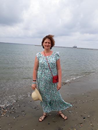 Фото. Платье из вискозы в пол.  Автор работы - YasyaMasya