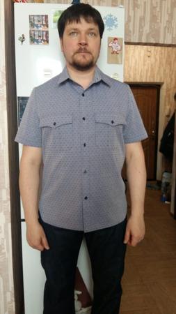 Фото. Рубашка мужу. Автор работы - zhannik4