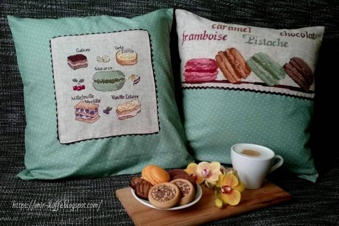 """Фото. """"Сладкие"""" подушки.   Автор работы - ludmilk_@"""