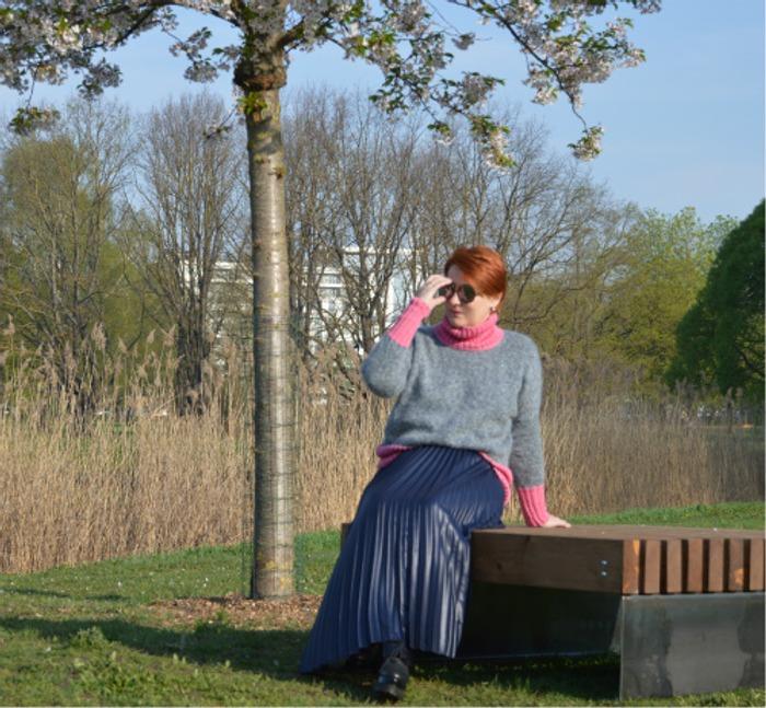 """Фото. """"Когда цветёт сакура"""" по мотивам Оксаны Колесниковой.  Автор работы - Komiljfo"""