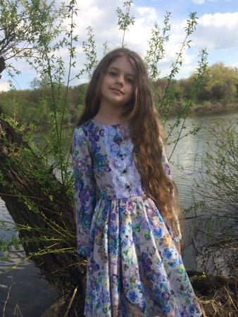 Фото. Платье для дочки в стиле романтической барышни.  Автор работы - Tolstik1