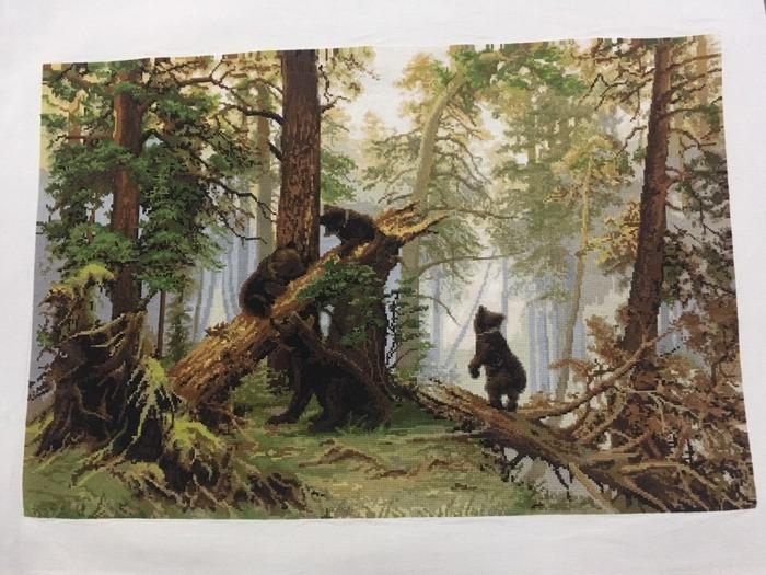 """Фото. """"Три медведя"""" в подарок сыну.  Автор работы - БякаБукина"""