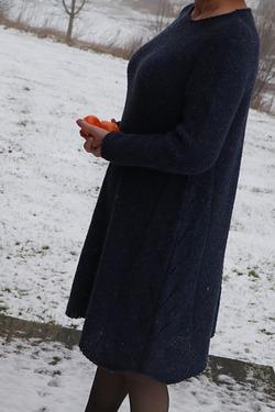"""Фото. Платье """"Алина"""", собственного сочинения из твида."""