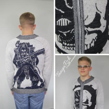 Фото. Куртка для любителя фантастики.   Автор работы - Танечка45