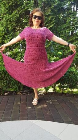 Фото. Платье мечты, понадобилось всего лишь 7 лет для воплощения. Автор работы - МаНик