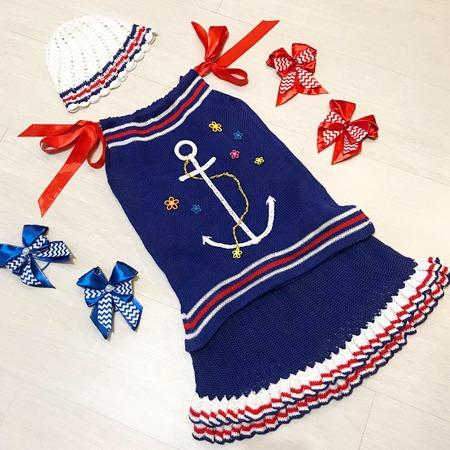"""Фото. """"Морячка"""" - костюм для племянницы.   Автор работы - Violinka1707"""