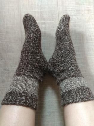 Фото. Носочки.  Автор работы - oclok