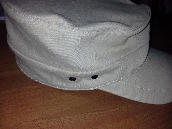 """Фото. Традиционная модель мужской кепки-""""аэродром"""" - с широкой тульей, удобна и привычна для многих. Автор работы - nnida"""