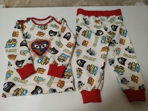 Фото. Пижамка для внучки  Автор работы - lira3003