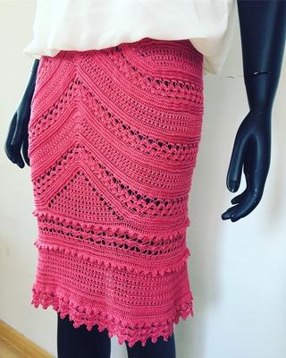 Фото. Вариант юбки Санторини.   Автор работы - Натало4ка