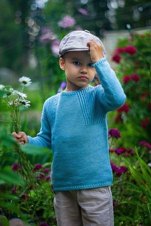 Фото. Пуловер.  Автор работы - L^venok