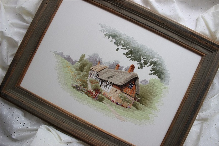 Фото. Домик Anne Hathaway's cottage от Heritage.  Автор работы - тарам