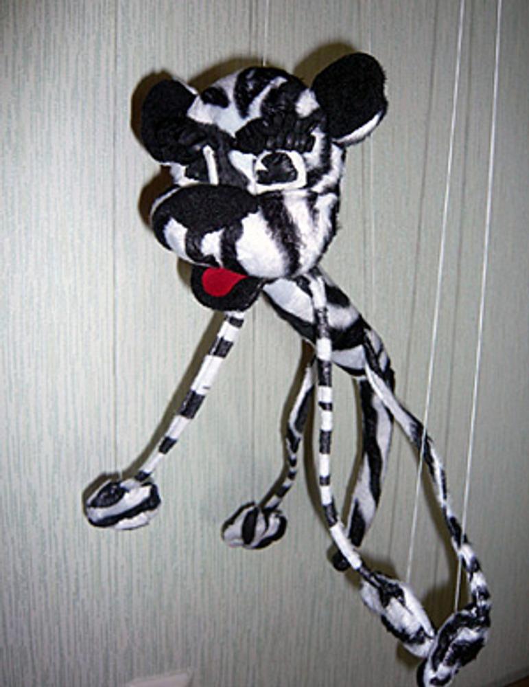 Фото 1. Танцующий тигренок.