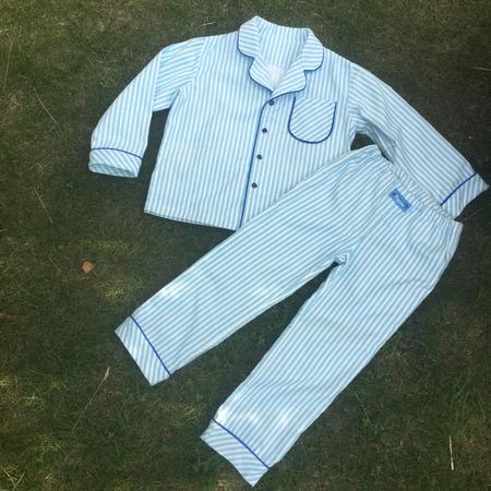 Фото. Маленький принц Максим - пижама из фланели.   Автор работы - MalTa