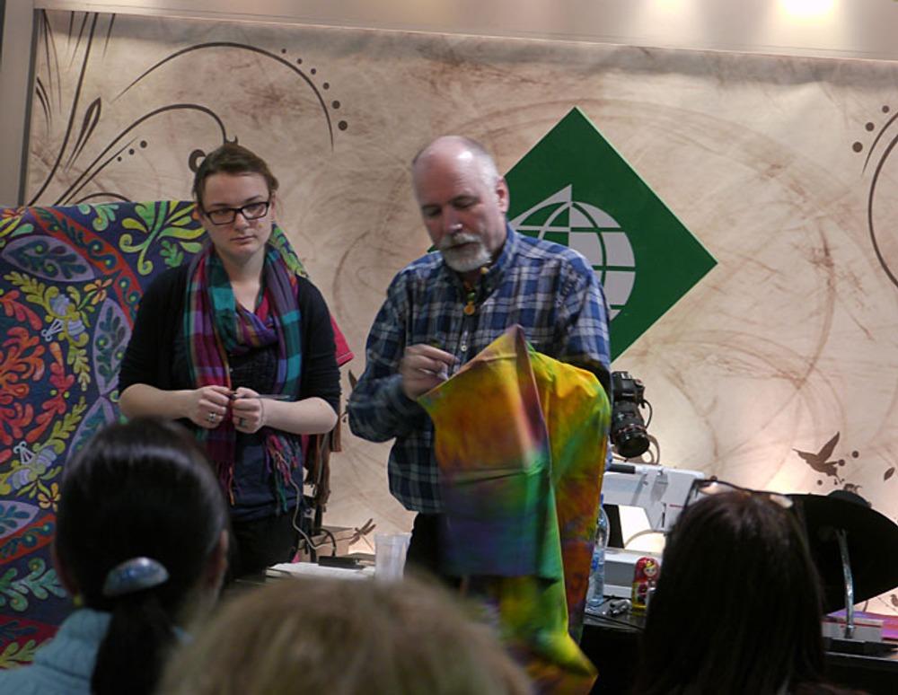 Фото: На семинаре Рики Тимса 1 марта 2012 г. в Москве.