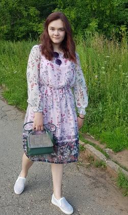 Фото. Платье дочке из шифона.   Автор работы - Moldovanka