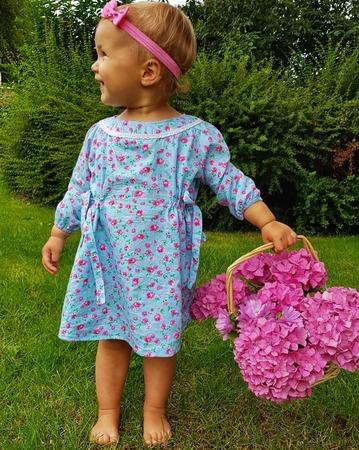 Фото. Платье для дочери.   Автор работы - Lana3q