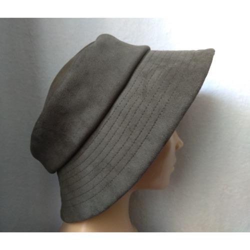 Фото. Шляпка из трикотажной замши.  Автор работы - St.Elena