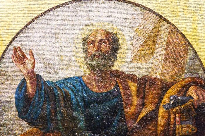 Фото. Апостол Петр. Исаакиевский собор, г. Санкт-Петербург.