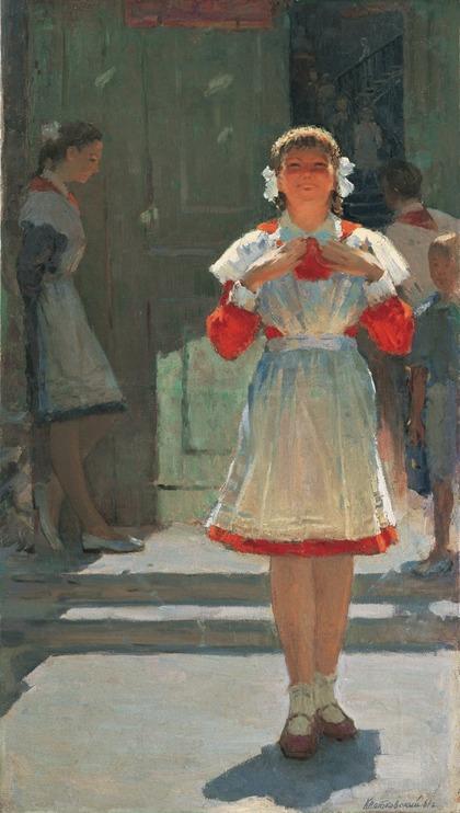 """Фото. Квятковский М.Л. """"Сдала"""", 1961 г."""