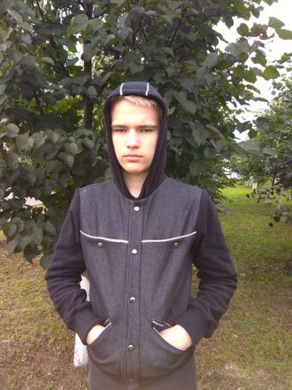 Фото. Куртка сыну из джинсы на флисе.   Автор работы - St.Elena