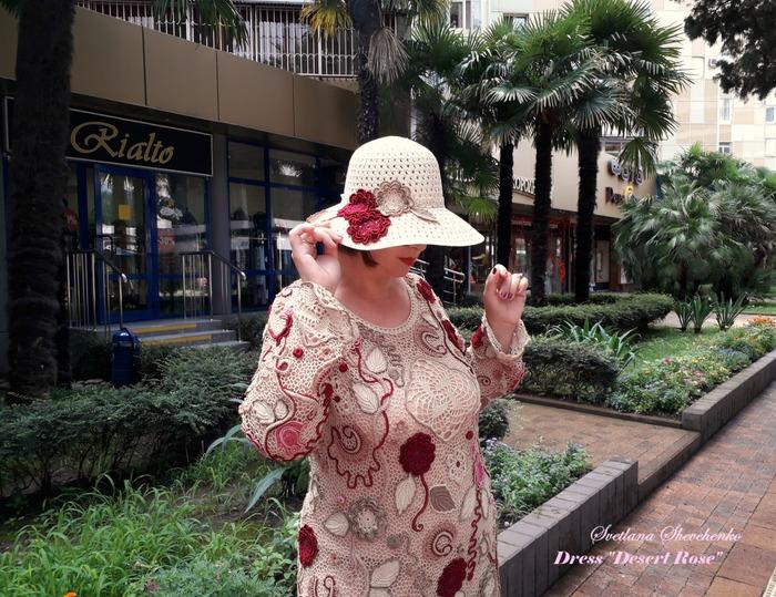 """Фото. Платье """"Роза пустыни"""" - ирландское кружево.  Автор работы - Sova Fotina"""