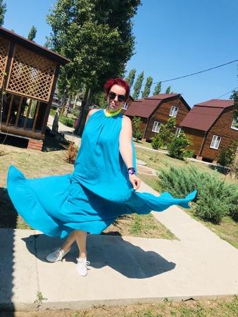 Фото. Платье из марлевки.   Автор работы - НаталиВд