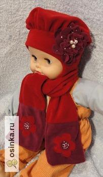 Фото. Зимний комплект (шапка + шарфик + варежки) для милых зверяток. Автор работы - ausever