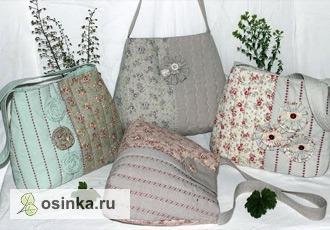 Фото. А эти сумочки - для дам постарше. Автор работы - Valentinka 64