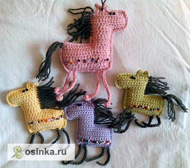 Фото. Сувенирные лошадки. Вам понравится такая милашка в упаковке с подарком?Автор работы - Жанчик