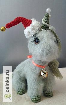 Фото. Новогодняя Единорожка - она ведь тоже Лошадка. Автор otal1 .