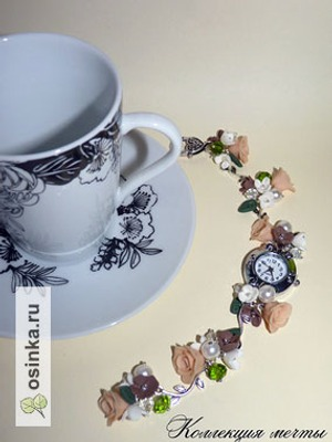 Фото. Стильно и изящно - часы от collectionofdreams .