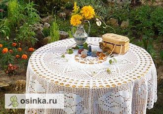 Фото. Многослойная скатерть может стать важным элементом декора. Автор - Олёха .