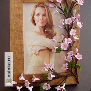 """Фото. Фоторамка """"Предчувствие весны"""" от Erika - еще один оригинальный подарок к 8 марта!"""