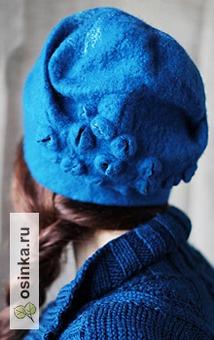 Фото. Это не просто шапочка - это уникальный мир войлока от - Шима .