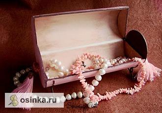 """Фото. Шкатулка для украшений """"Romantique"""". Автор - Soweig ."""
