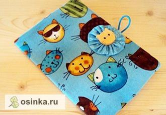 Фото. Еще одна обложка для детского паспорта. Для девочки. Автор - Snezhinka76 .