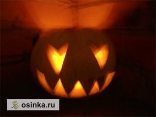 Фото. Тыква - главный символ Хэллоуина. Автор - тушканчик макс .