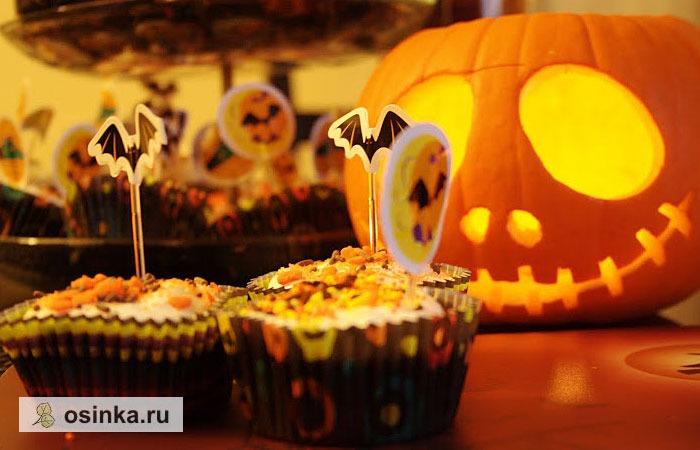 Фото. Хэллоуин - веселый, вкусный и яркий праздник! Автор - Silverpoplar .