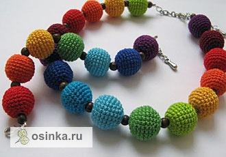 Фото. По некоторым можно даже учить цвета. Автор этой вязаной красоты - IrinaS .