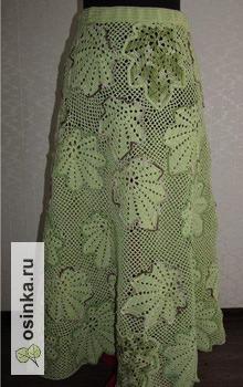 Фото. А если есть блузка, то как обойтись без юбки! Автор этой красоты - Любовь Бугай .