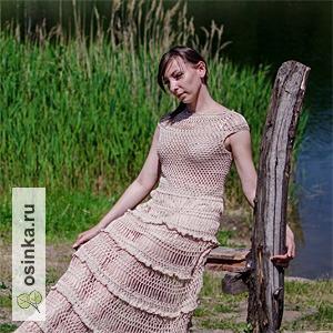 "Фото. Летнее вязаное платье ""Мануэла"". Автор - sng23 ."