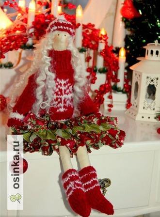 Фото. Особенно - если она будет красоткой в зимнем наряде или добрым рождественским Ангелочком. Автор - Аксёнок .