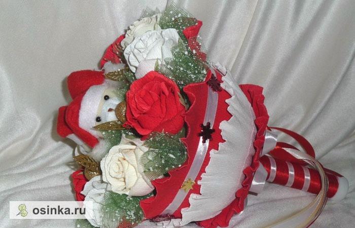Фото. Ломаете голову, что подарить на Новый год? Букет из мягких игрушек – это идеальный подарок. Это очень оригинально, красиво и модно! Автор - Лесепусичка .